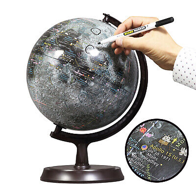 "Mapsoft Explorer Moon Globe, Lunar Globe, 24cm/9.5"", M-24"