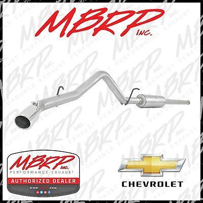 3 Inch MBRP Cat Back Exhaust W/Tip 2014-2018 Silverado Sierra 1500 4.3L & 5.3L Aluminized Cat Back Exhaust Systems