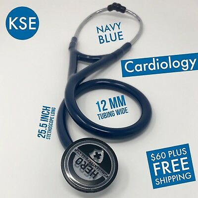 Kse Master Cardiology Stethoscope Navy Blue By Kongs Enterprise