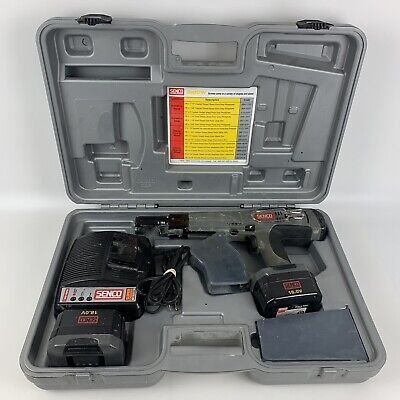 Senco Duraspin Ds275-18v Screw Fastening System Battery Case Charger - Complete