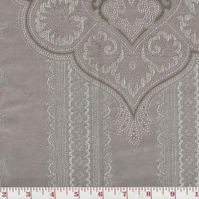Grey Velvet Fabric by Ralph Lauren Rtl $504/y Casimir Gilded Paisley CL Pewter