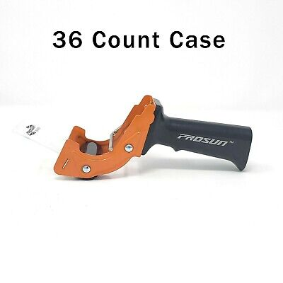 36 Count Case Prosun Fast Reload 2 Inch Packaging Tape Gun Dispenser