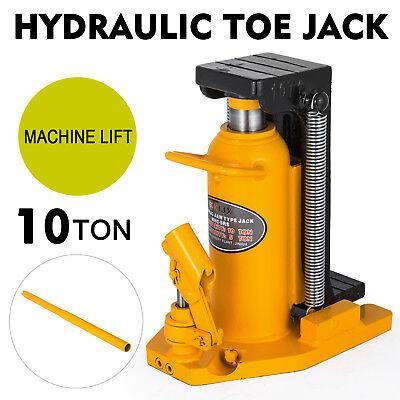 10 Ton Hydraulic Toe Jack Machine Lift Cylinder Proprietary Tool Machinery 10 Ton Hydraulic Jack
