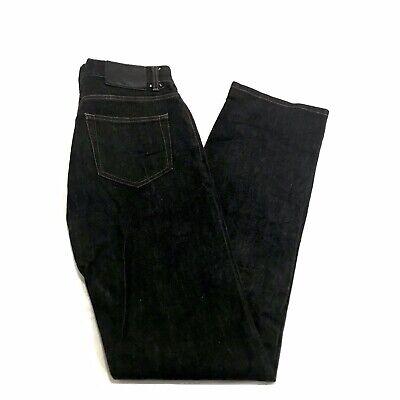 Vintage 90's Gucci Japan Stock Men's Black Denim Jeans Size 30 Made in Italy