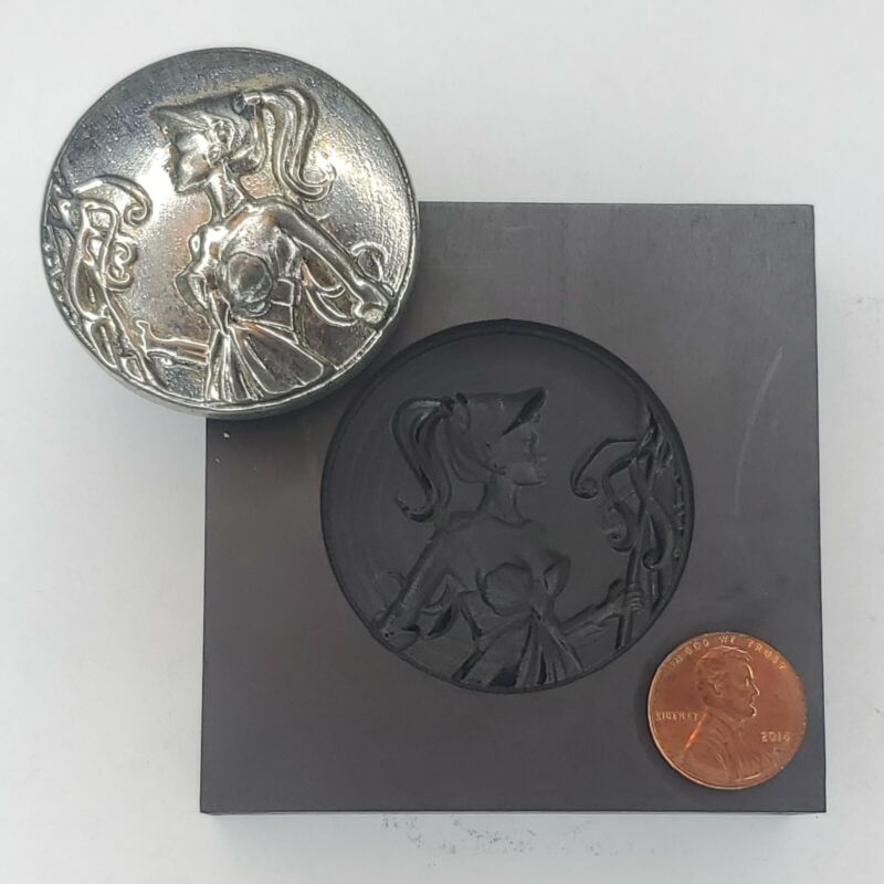 Woman 3D Graphite Ingot Mold for Gold Silver Copper Tin Melting Casting Refining