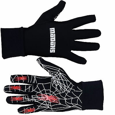 Winter thermal Running gloves warm Spider lightweight football unisex (AA)
