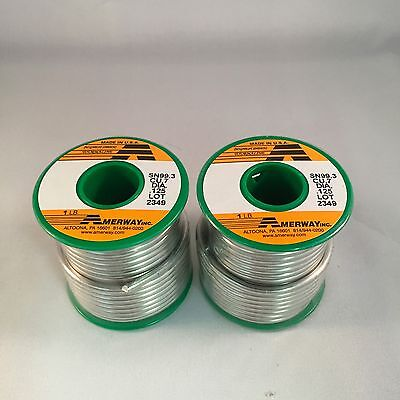 2 LB Amerway Lead Free Solder For Copper Foil, Jewelry - Stained Glass (Lead Free Foil)