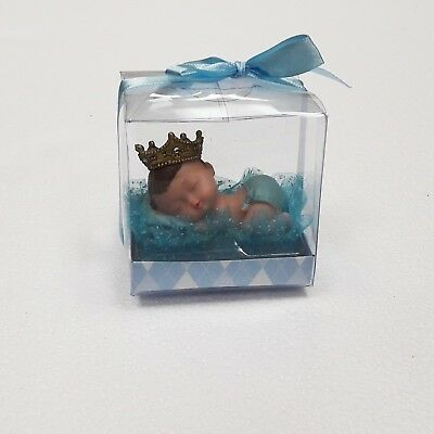 1PC Baby Shower Keepsake Prince Boy Favor Party Decoration Cake Topper Gift Baby