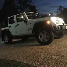 2008 Jeep Wrangler Unlimited 4 door Convertible Red Hill Brisbane North West Preview