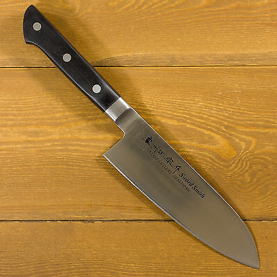 Sword Smith Japanese Kitchen Chef Knives multi purpose Santoku knife 170mm 3-632