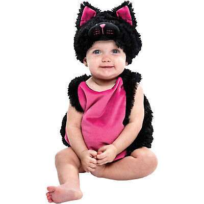 Unbranded  Infant Halloween Dress Up / Role Play Bubble Costume Black Cat - Infant Black Cat Halloween Costumes