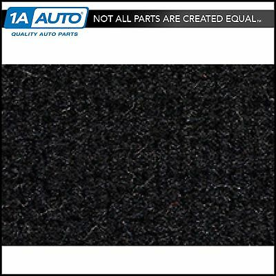 for 84-87 Toyota Corolla 4 Door w/o Heat Vents Cutpile 801-Black Complete Carpet