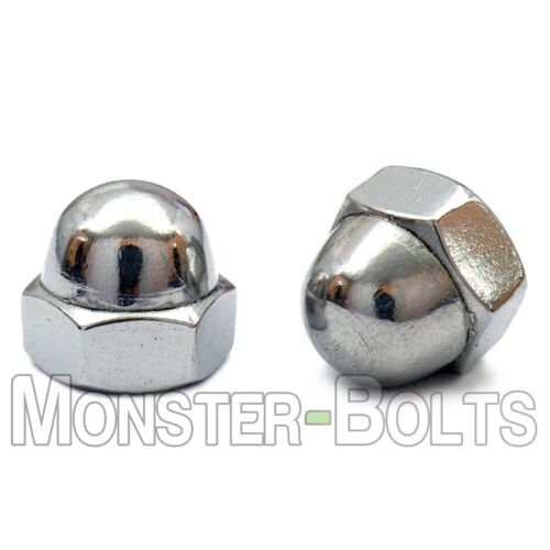 Stainless Steel Acorn Nut A2 304, #4-40 #6-32 #8-32 #10-24 #10-32 1/4-20 5/16-18