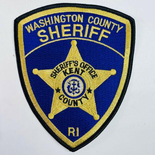 Washington County Sheriff Rhode Island Patch (A5)