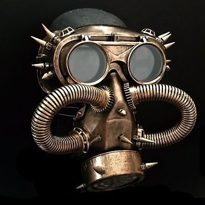 Halloween Steampunk Rivet Vintage Goggles Burning Man Gas Cosplay Dress Up - Halloween Dress Ups