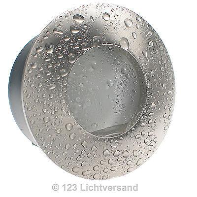 5x LED Decken Einbaustrahler NAUTIC Edelstahl IP65 3W=35W 230V Feuchtraum Dusche