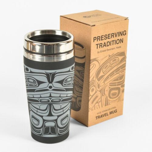 First Nations Native Travel Mug Matte Finish 16oz
