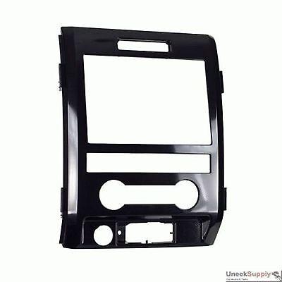 Din Black Dash Kit - METRA 95-5820HG CAR DASH KIT FOR Double Din 2009-UP FORD F-150 HIGH GLOSS BLACK