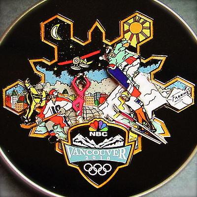 (FAZZINO 2010 VANCOUVER OLYMPIC PIN