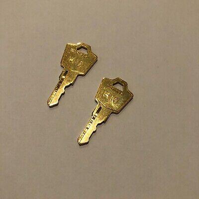 Two 2 Hon Master Keys E H R S T Series Locks Steelcase Herman Miller