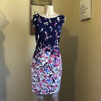 Alix Formal Dress A-line Sz 18 Flowering Sleeveless Round Neck. **NEW🌺