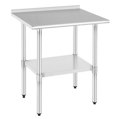 24x30 Commercial Stainless Kitchen Restaurant Prep Steel Work Prep Table