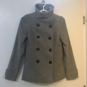 LNC Light Grey Peacoat