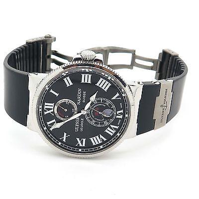 Ulysse Nardin Maxi Marine 263-67 Automatic Black Men's Watch