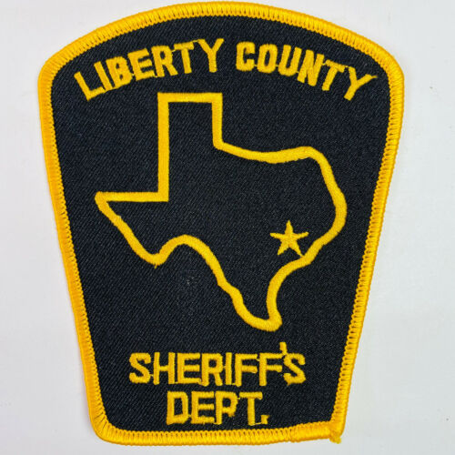 Liberty County Sheriff Texas TX Patch A8