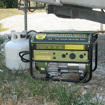 Sportsman GEN4000LP Manageable 4000 Watt Propane Generator - RV Ready
