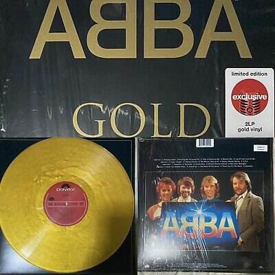 Abba Gold Golden Double Colored Vinyl Edition