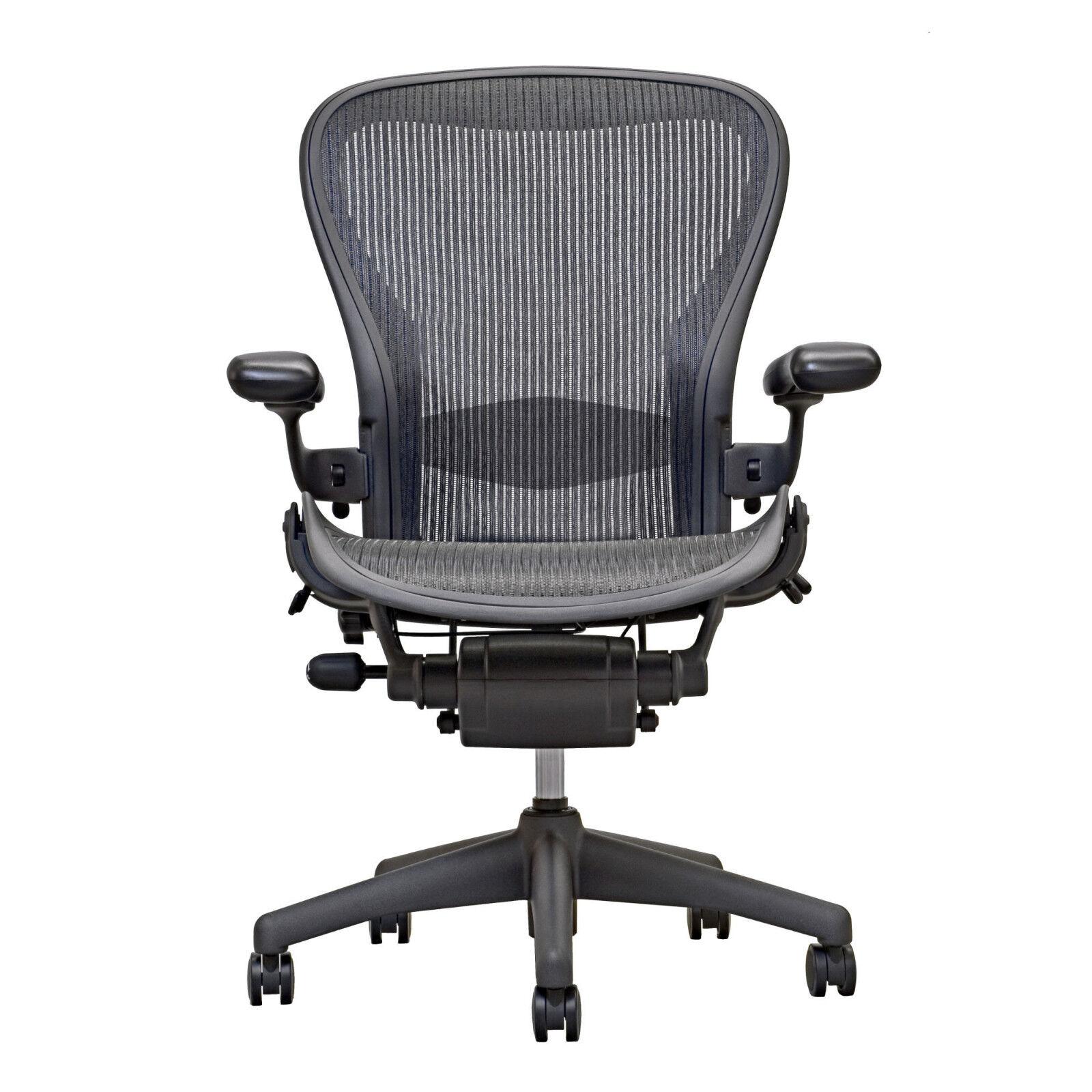 aeron chair open box size b fully