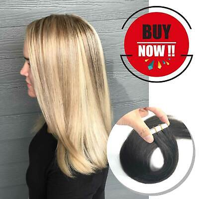 BEST Tape In Human Hair Extensions managable Fusion Curly woman hair US