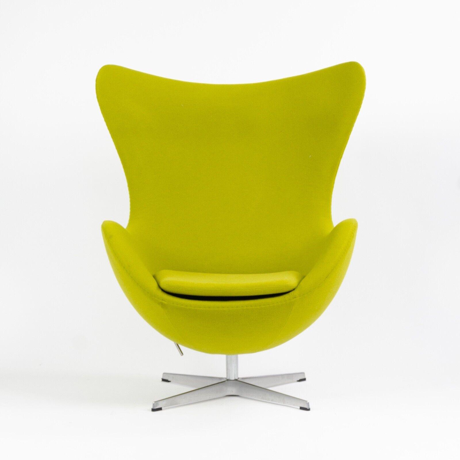 Arne Jacobsen Egg Chair.2003 Egg Chair By Arne Jacobsen For Fritz Hansen Original Fabric