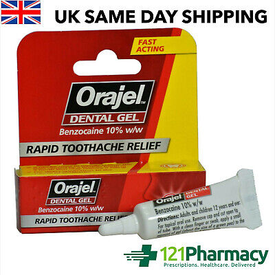 Orajel Dental Gel - Pain relief from broken a tooth or filling