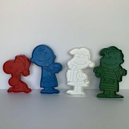 Lot of 4 Vintage Peanuts Cookie Cutters -Snoopy, Lucy, Charlie Brown & Linus
