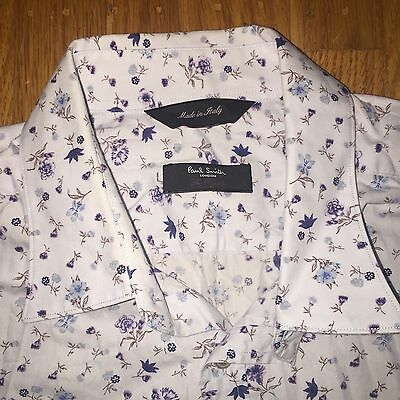"Paul Smith London ""The Byard"" casual shirt - floral patterned - men's 16"