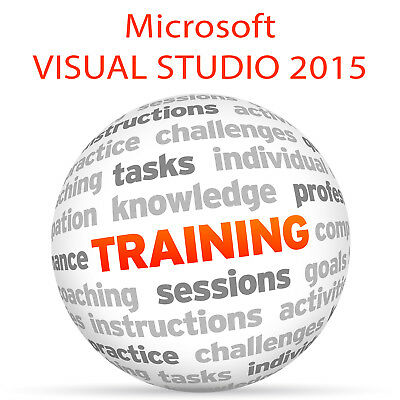 Microsoft VISUAL STUDIO 2015 - Video Training Tutorial DVD ()