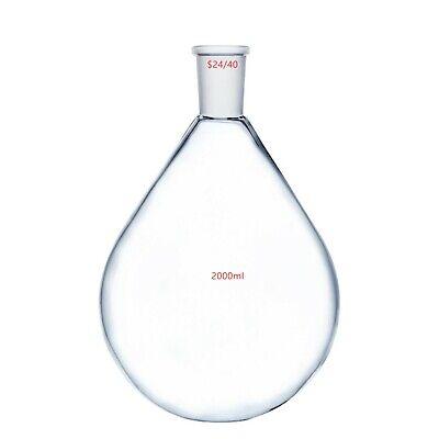 2000ml2440glass Recovery Flask2 Litrerotary Evaporator Kjelda Bottle