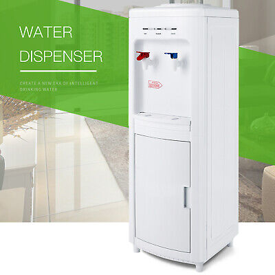 Minimalism Top Loading Water Cooler Hot Cold Water Dispenser Storage Smart Tray