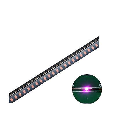 500pcs Smd Led Diode 06031608 Lights Chipspink Ultra Bright Bulb