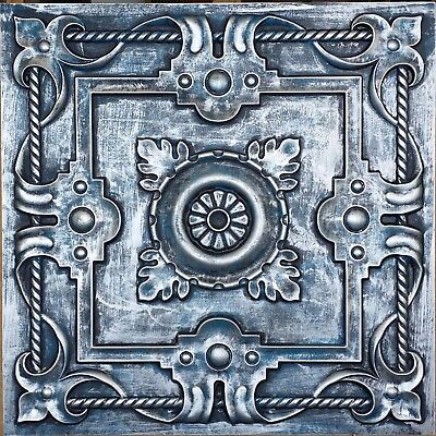Antique tin ceiling tile cafe nightclub bar decor wall panels PL29 pack of 10pcs