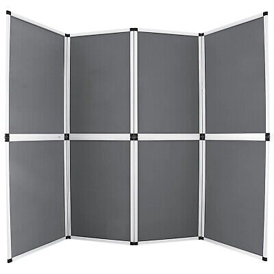 6x8 Folding 8 Panels Trade Show Display Booth Screen Backdrop Display