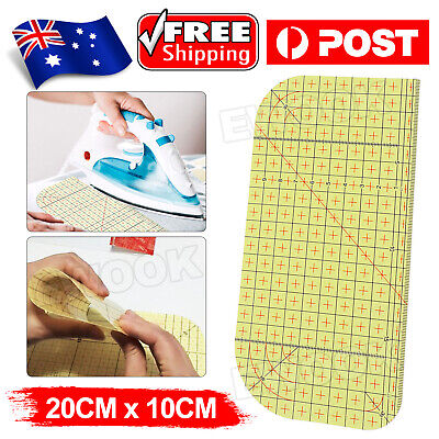 Hot Ironing Ruler Sewing Patch Tailor Making Craft DIY Measuring Handmade Tool