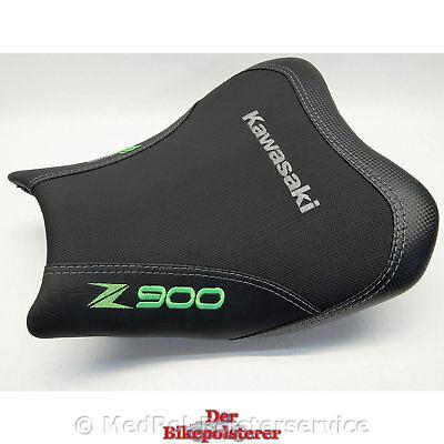 Kawasaki Z 900 - KomfortFahrersitz: GelEinlage, 3-fach Stickerei, Steißbeinzone