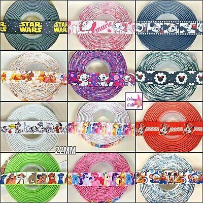 Ribbon Minnie, Micky, Nemo, Winnie, Star Wars, Marie - Make/Craft Bows/Cake Dec