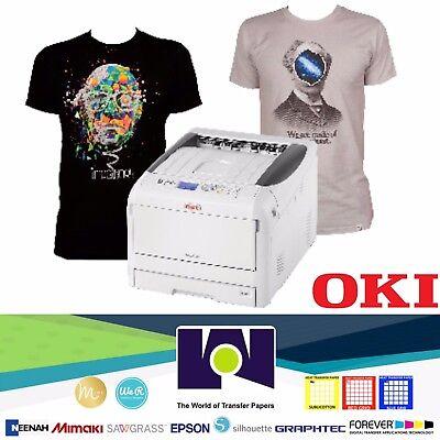 "White Printer Toner (Okidata PRO8432WT White Toner Transfer Printer   11""x17"" Output )"