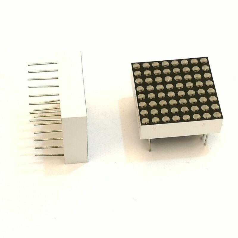 US Stock 1pc 5mm 8 x 8 Dotmatrix Dot Matrix Red LED Display Common Cathode