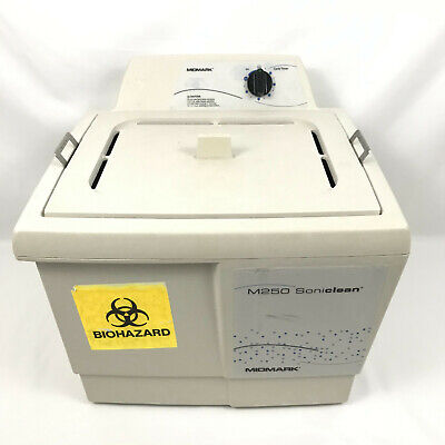 Midmark M250 Soniclean Ultrasonic Cleaner Mm250 With Basket Tray