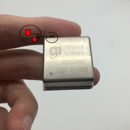 1×CETC CTI OSC5A2B02 10MHz 5V 26*26*13 Square Wave OCXO Crystal Oscillator